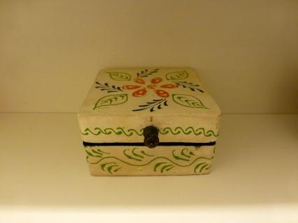 Aufbewahrungsbox für die Mini-Pads