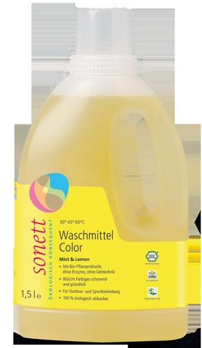 Waschmittel ohne Palmöl von Sonett