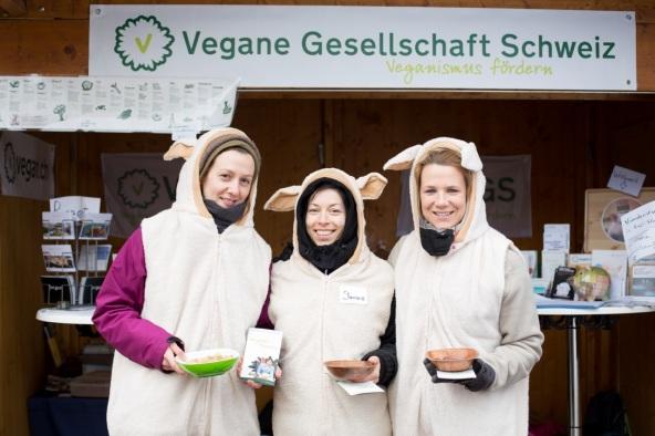 Vegane Gesellschaft am Eco.Festival 2015