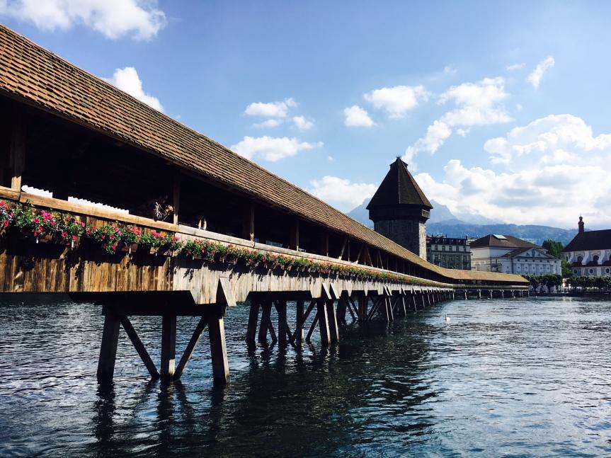 Wahrzeichen der Stadt Luzern
