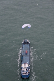 Skysails - Zugdrachen-Windantriebssysteme für Schiffe