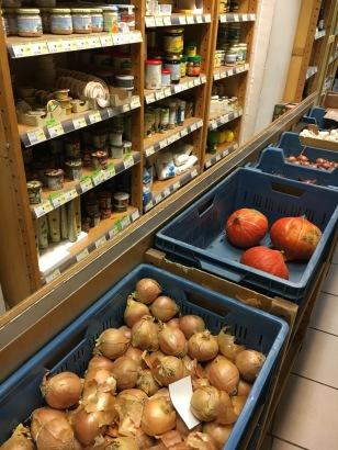 Gemüse kann offen gekauft werden