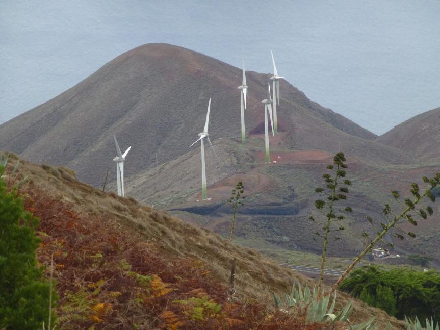 Windkraftwerk auf El Hierro