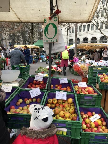 Biologische Äpfel