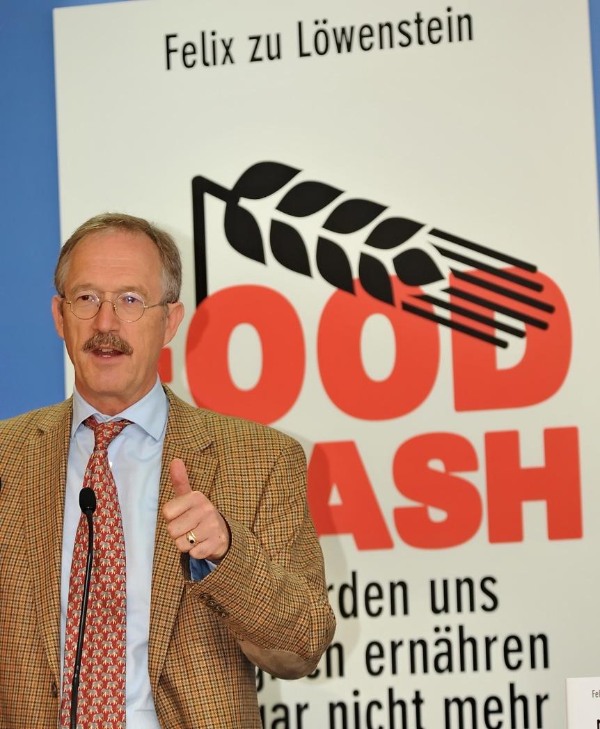 Felix zu Löwenstein - Autor von Food Crash