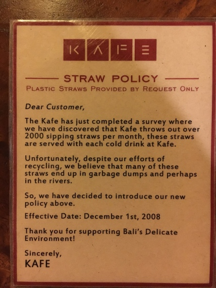 No Straw please!