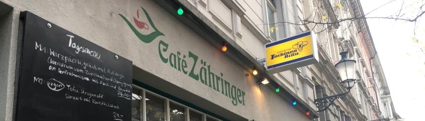 Café Zähringer inZürich